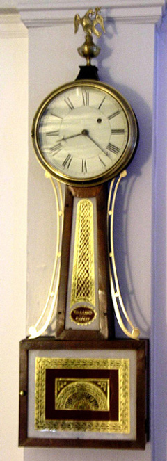 Early T-Bridge Banjo Clock