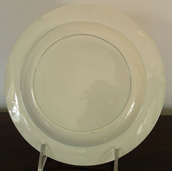 A Pair of Pearlware Plates with Hope and Anchor