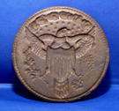 Great Seal of the United States Waffer Press with 16 Stars