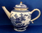 Chinese Export Nanking Tea Pot