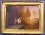 O/B Dog Portrait by Edmund Bristow