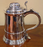 Silver Tankard by William Shaw & William Priest