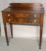 Sheraton Mahogany Two Drawer Server