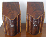 A Fine Pair of Inlaid Knife Boxes