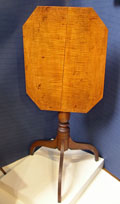 Bold Tiger Maple Candlestand
